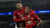 Jesse Lingard và Anthony Martial sẽ vắng mặt trong các cuộc đại chiến với Chelsea và Liverpool