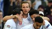 Harry Kane cùng các đồng đội ở tuyển Anh