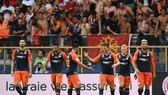 Vỉ sao Lyon thảm bại trên sân Montpellier