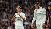 Luka Moric và Gareth Bale đều dính chấn thương