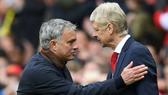 Jose Mourinho và HLV Arsene Wenger