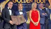 Luka Modric ta56i lễ trao giải