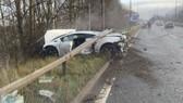 Tan tành chiếc siêu xe Lamborghini của thủ môn Manchester United