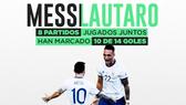 Đến Barca, Lautaro và Messi hợp thành Bộ đôi tàn khốc