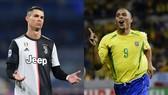 CR7 thừa nhận không thể sánh với Ronaldo Nazario