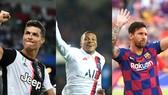 Ronaldo, Mbappe và Messi