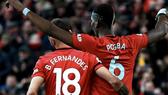 Paul Pogba và Bruno Fernandes CHƠI RẤT HAY TRONG ĐÁ TẬP.