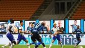 Romelu Lukaku mở tỷ số ở phút thứ 10 cho Inter Milan