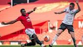 Paul Pogba góp công treong chiến thắng 3-0 ở Old Trafford
