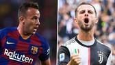 Juventus tiếp tục bận rộn với cầu thủ: Bán Pjanic, đón Arthur