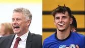Ole Solskjaer (Man United) và Mason Mount (Chelsea)