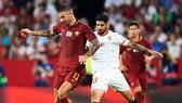 AS Roma tranh quyền vào tứ kết Europa League với Sevilla
