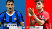 Inter Milan  tõ ra trên chân Leverkusen