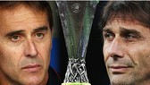 HLV Julen Lopetegui (Sevilla) và Antonio Conte (Inter)