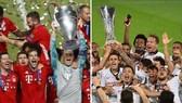 Bayern và Sevilla trong lễ đăng quang của họ