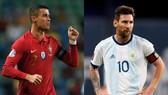Cristiano Ronaldo và Leo Messi