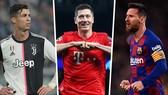 Ronaldo, Lewandowski và Messi