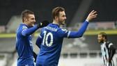 Leicester City chiếm vị trí thứ 3 sau trận thắng Newcastle