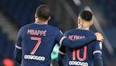 Kylian Mbappe và Neymar