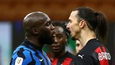 Romelu Lukaku và Zlatan Ibrahimovic