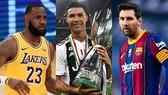 LeBron James, Ronaldo và Messi