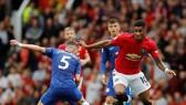Marcus Rashford (Man United) vượt qua Jorginho (Chelsea)