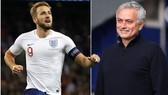 Harry Kane và Jose Mourinho