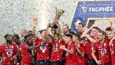 Lille bất ngờ thắng Siêu cúp Pháp