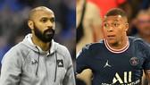 Thierry Henry và Kylian Mbappe