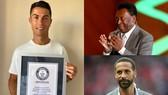 Ronaldo nhận bằng Guiness và lời khen tung của Pele, Rio Ferdinand