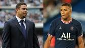 Ronaldo Nazario và Kylian Mbappe
