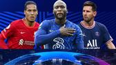 Van Dijk (Liverpool), Romelu Lukaku (Chelsea) và Leo Messi (PSG)