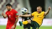 Tuyển Australia đang dẫn đầu bảng B khu vực châu Á