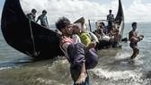 Người tị nạn Rohingya được cứu (nguồn: AFP)
