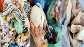 Trung Quốc thu giữ 400 tấn thực phẩm đông lạnh, bắt 7 nghi can