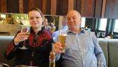 Cựu điệp viên người Nga Skripal và con gái. Ảnh: Supplied