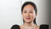Giám đốc tài chính tập đoàn Huawei Mạnh Vãn Chu. Ảnh: TWITTER