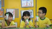 Chương trình sữa học đường đã và đang được triển khai tại nhiều tỉnh thành phố trên cả nước