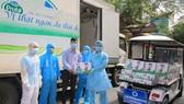 Tại Hải Phòng, gần 600 em nhỏ tại Bệnh viện Trẻ em Hải Phòng cũng đã nhận được sự hỗ trợ từ Vinamilk