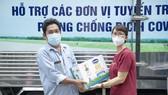 Hỗ trợ 48.000 sản phẩm dinh dưỡng cho đội ngủ nhân viên y tế TPHCM