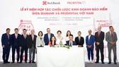 Prudential-SeABank hợp tác phân phối bảo hiểm trên nền tảng kỹ thuật số