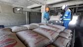 Dây chuyền sản xuất xi măng tại Công ty CP Xi măng Thăng Long, tỉnh Quảng Ninh. (Ảnh: TTXVN)