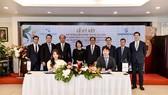 Tập đoàn Tân Á Đại Thành và Daewoo E&C ký kết các hợp đồng hợp tác quan trọng: Hợp đồng liên doanh; Hợp đồng xây dựng và Hợp đồng dịch vụ Bất động sản