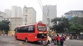 Sở Giao thông Vận tải Hà Nội đề xuất cho xe khách hoạt động trở lại từ 13/10. (Ảnh: Việt Hùng/Vietnam+)