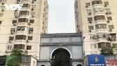 Một khu nhà chung cư ở Kim Liên, Hà Nội được cải tạo xây dưng lại.