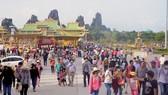 Khu du lịch Đại Nam thu hút hơn 35.000 lượt khách mỗi ngày