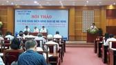 Quang cảnh hội thảo báo Đảng các tỉnh trong khu vực Đông Nam bộ