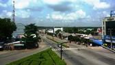 Một góc trung tâm huyện Phú Giáo