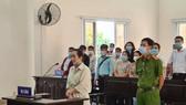 Bị cáo Thảo tại phiên tòa