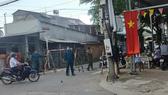 Lực lượng chức năng triển khai các biện pháp phòng dịch Covid-19